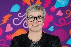 """""""Vi ønsker at vide mere om vores kunder og blive endnu bedre"""", siger Eva-Lena Berglund, chef for Fakturering i Skellefteå Kraft."""
