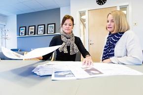 Liselotte Duvander er ansvarlig for virksomhedens værktøj til fakturakommunikation og Ulla Höglind er markedskommunikations- og CRM-chef.