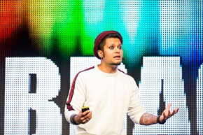 – Sørg for, at dine produkter og serviceydelser får kunderne til at forelske sig i dem, siger Rahul Lindberg Sen, Lead Growth Designer hos Spotify.