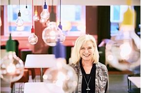 Carina Björkefors, Chief Development Officer fra det nordiske finansieringsselskab EnterCard.
